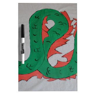 Chinese Dragon Dry-Erase Whiteboard