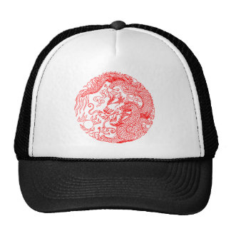 Chinese Dragon Trucker Hats