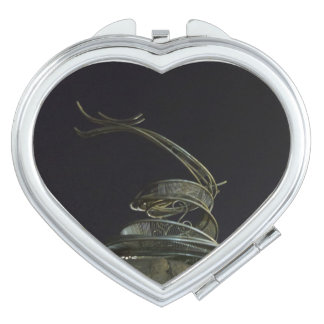 Chinese Dragon Heart Compact Mirror