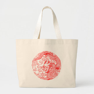 Chinese Dragon Jumbo Tote Bag