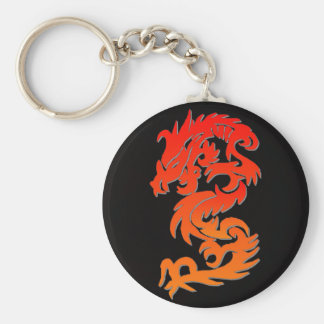 chinese dragon keychain