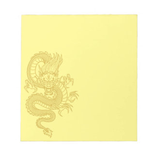 Chinese Dragon Notepad