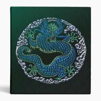Chinese Dragon Ornament Vinyl Binder