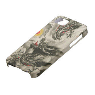 Chinese Dragon Painting iPhone 5 iPhone 5 Cases