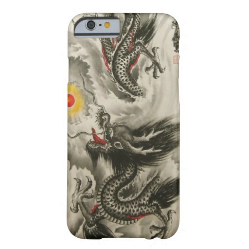 Chinese Dragon Painting iPhone 6 case,