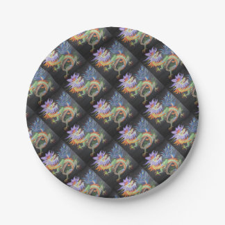 Chinese Dragon Paper Plate