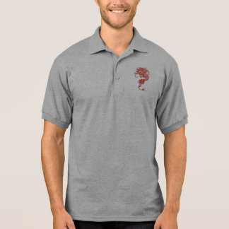 Chinese Dragon Polo Shirt