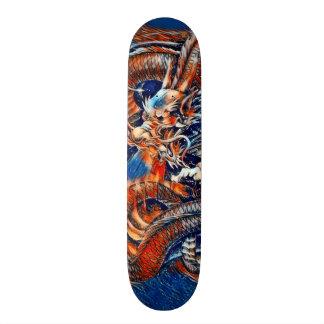 Chinese Dragon Rain Element Custom Pro Park Deck Skate Deck