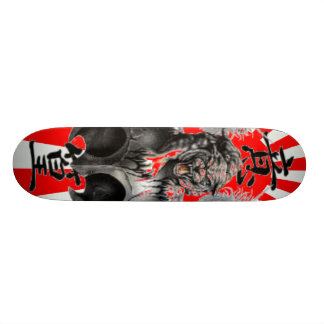 Chinese Dragon Skateboard - Customized