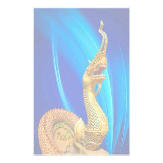 Chinese Dragon Stationary Stationery Design