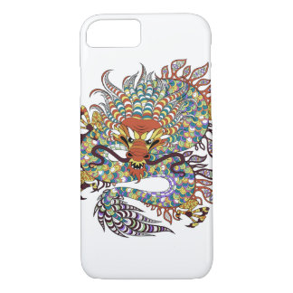 Chinese Dragon Tattoo Print iPhone 7 Case