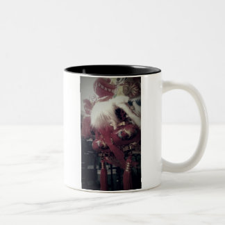 Chinese Dragon Two-Tone Coffee Mug