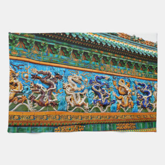 Chinese Dragons Hand Towels