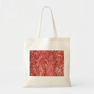 chinese dried chili budget tote bag