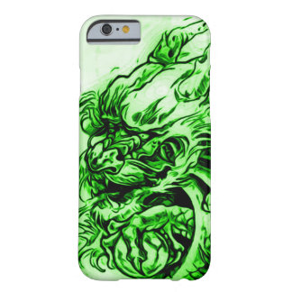 Chinese Earth Dragon Art Nouveau Barely There iPhone 6 Case