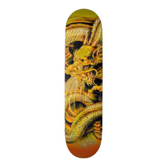 Chinese East Dragon Element Custom Pro Park Board Skate Boards