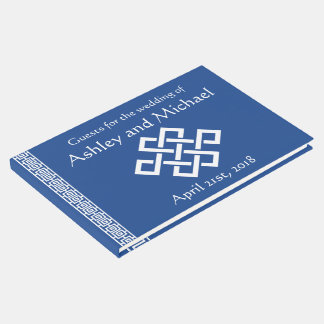 Chinese Elegance in Blue  Guest Book