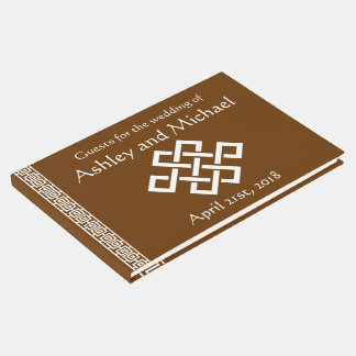 Chinese Elegance in Chocolate Guest Book