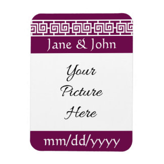 Chinese Elegance in Wine Save-the-Date Magnet