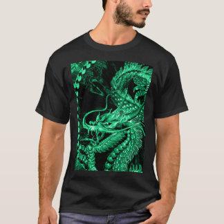 Chinese Emerald Emperor Dragon Art T-Shirt