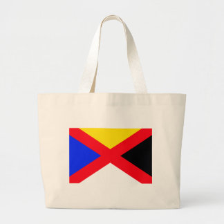 Chinese Empire Flag Han Canvas Bags