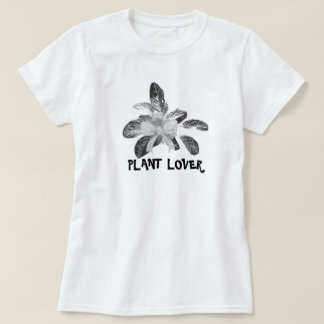 Chinese Evergreen Plant Lover Ladies T Shirt