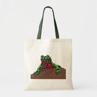 Chinese Fire Bellied Toad Tote Bag