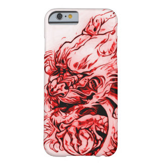 Chinese Fire Dragon Art Nouveau Barely There iPhone 6 Case