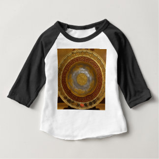 Chinese flower plaque baby T-Shirt