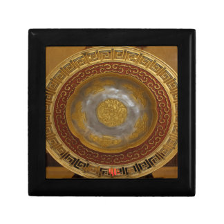 Chinese flower plaque gift box