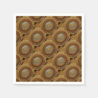 Chinese flower plaque paper napkin