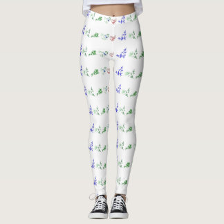 Chinese Folk Designs Leggings
