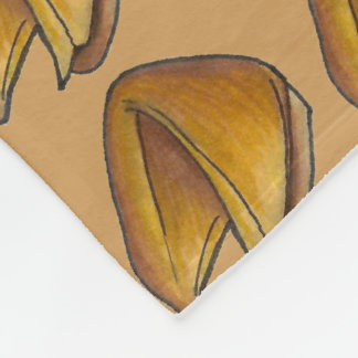 Chinese Food Foodie Fortune Cookie Cookies Blanket