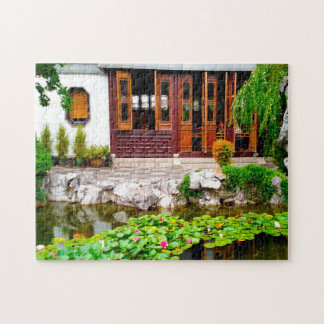 Chinese Garden Portland Oregon. Jigsaw Puzzle