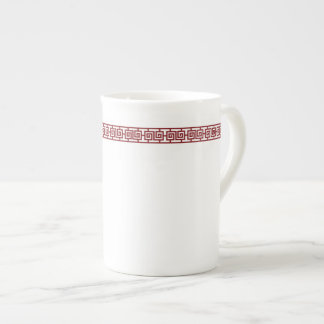 Chinese Geometric Border Specialty Mug