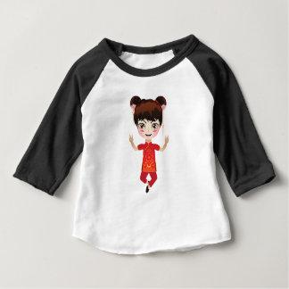 Chinese Girl Baby T-Shirt