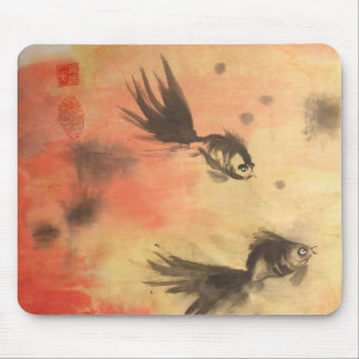 Chinese Golfish Mousepad