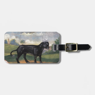 Chinese Hairless Dog Luggage Tag