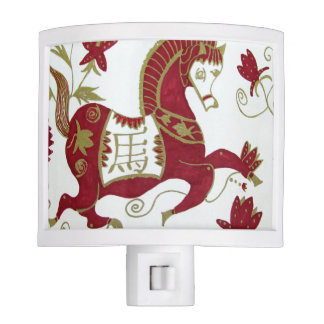 Chinese Horse Astrology Night Light