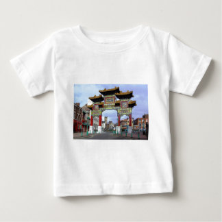 Chinese Imperial Arch, Liverpool UK Baby T-Shirt