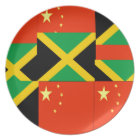 Chinese-Jamaican Plate
