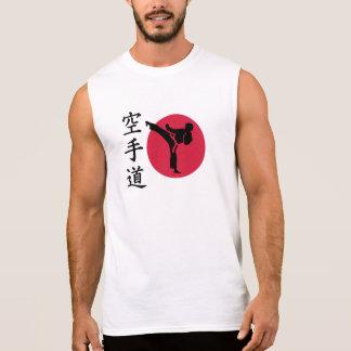 Chinese Karate fighter Sleeveless Shirt