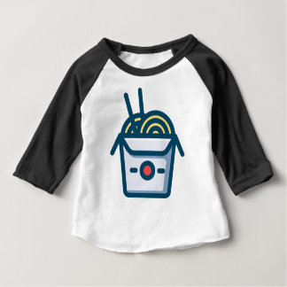 Chinese Kung Pao Noodles Baby T-Shirt