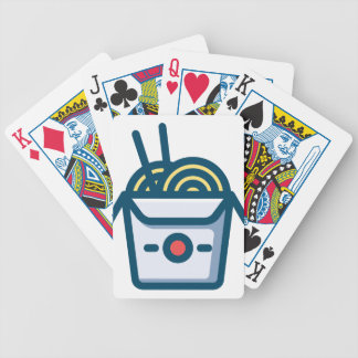 Chinese Kung Pao Noodles Bicycle Playing Cards