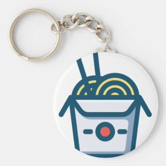 Chinese Kung Pao Noodles Keychain