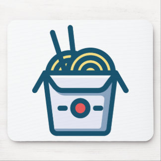 Chinese Kung Pao Noodles Mouse Pad