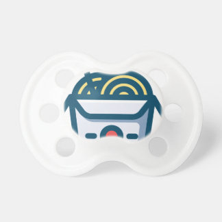 Chinese Kung Pao Noodles Pacifier