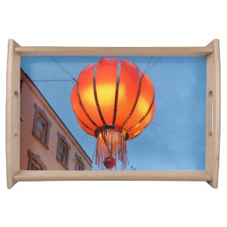 Chinese Lantern Serving Tray