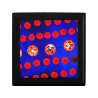 Chinese lanterns gift box
