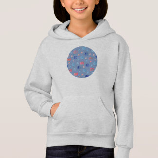 Chinese Lanterns Girls' Hoodie